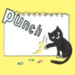 黒猫イラスト-無料素材