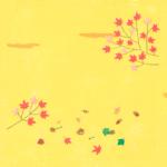 秋の背景イラスト-無料素材