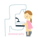 マンモグラフィー検査-無料イラスト