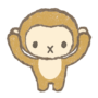 三猿、聞かざるイラスト