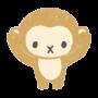 三猿、聞かざるのイラスト画像