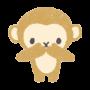三猿、言わざるのイラスト画像
